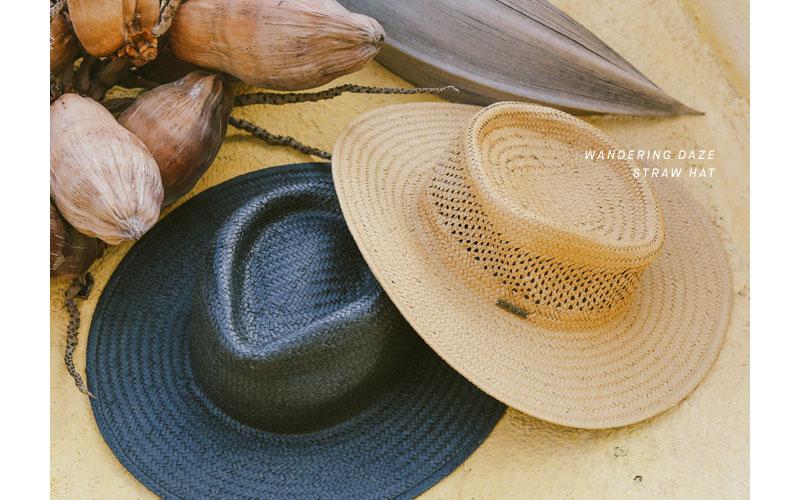 wandering daze straw hat