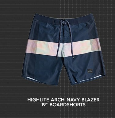 """Highlite Arch Navy Blazer 19"""" Boardshorts"""