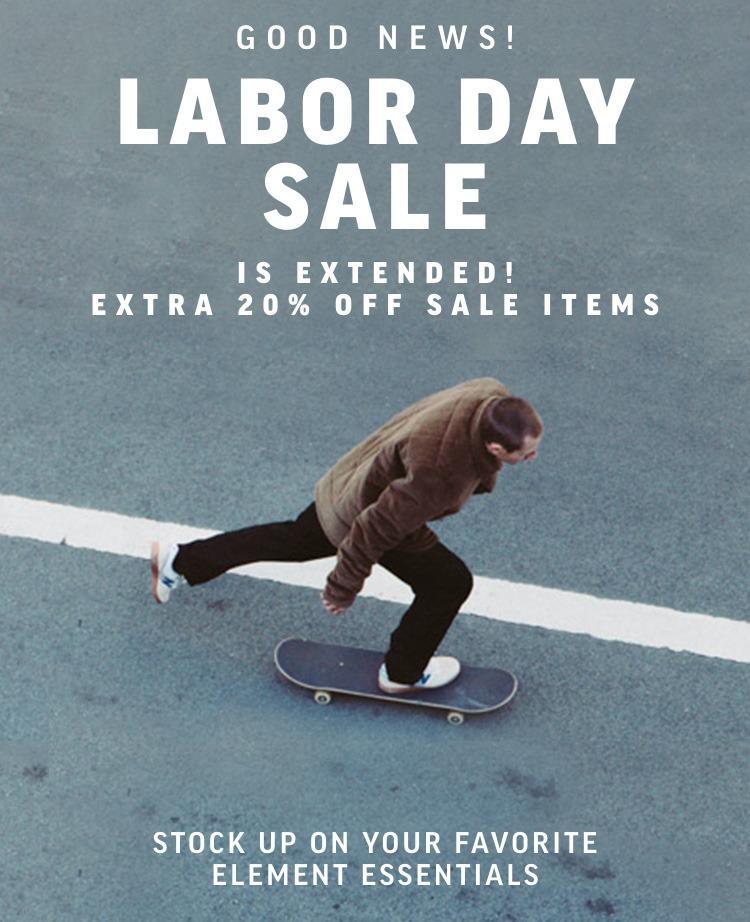 Labor Day Sale Hero