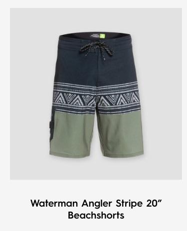 "Waterman Angler Stripe 20"" Beachshorts"
