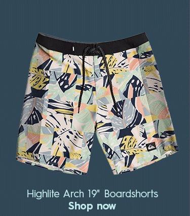 """Highlite Arch 19"""" Boardshorts"""