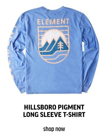 HILLSBORO PIGMENT LONG SLEEVE T-SHIRT