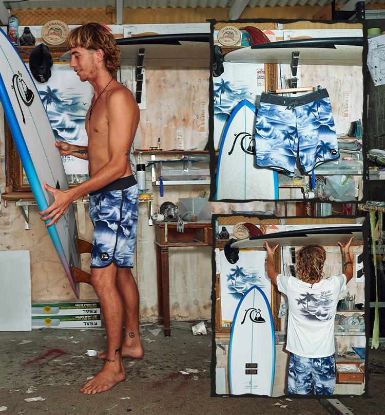 "Surfsilk Mystic Sessions 19"" Boardshorts"